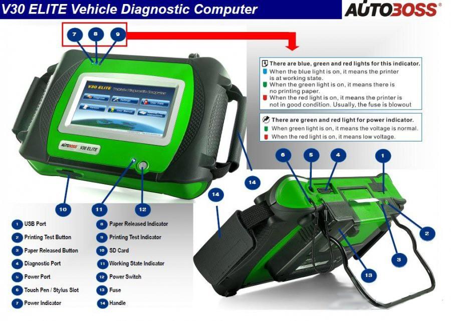 Autoboss V30 Elite Original