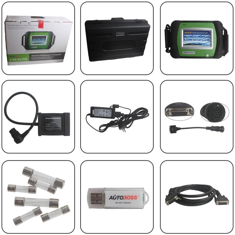 Autoboss V30 Elite Diagnostic Tool