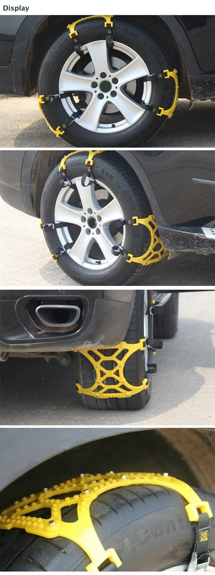 Car Tire Skid Chain Display