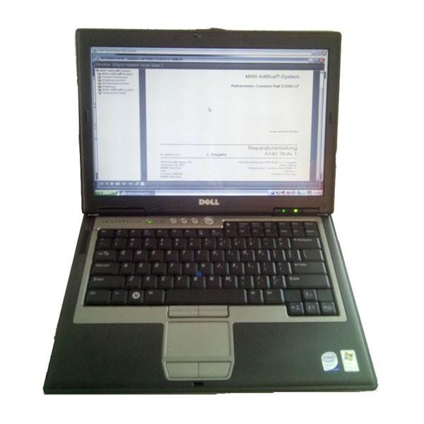 MAN T200 Dell D630 Laptop