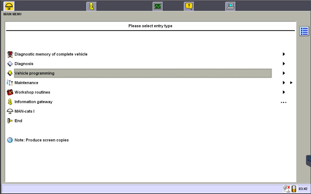 MAN T200 Diagnostic Software