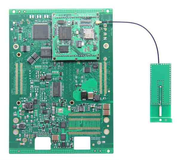 Wireless Piwis II Tester PCB Board_Front