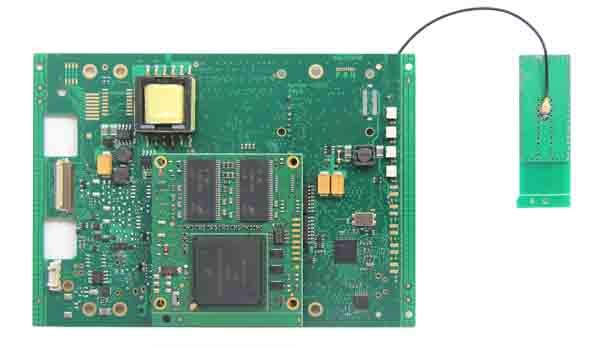 Wireless Piwis II Tester PCB Board_Back